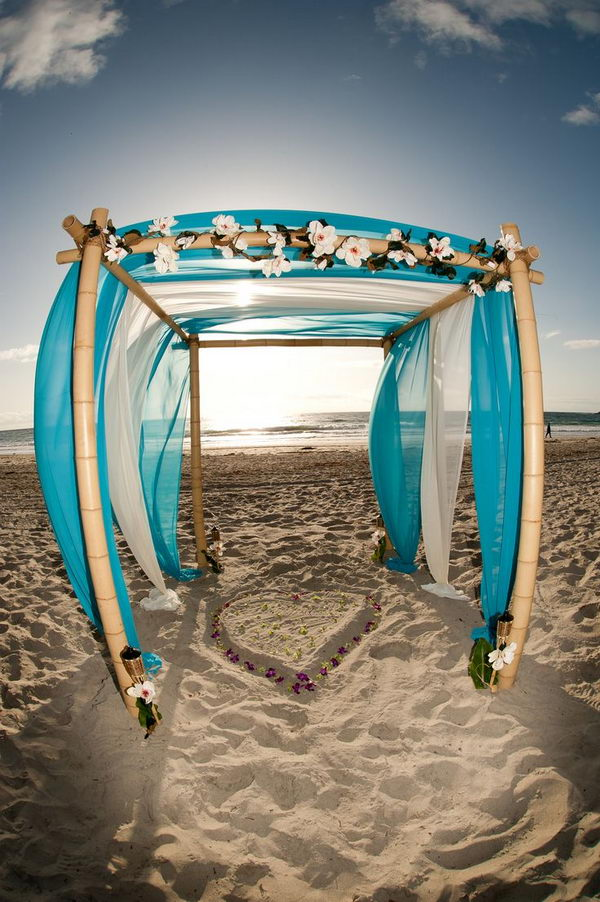 Diy Wedding Arch Beach 20 Cool Wedding Arch I...
