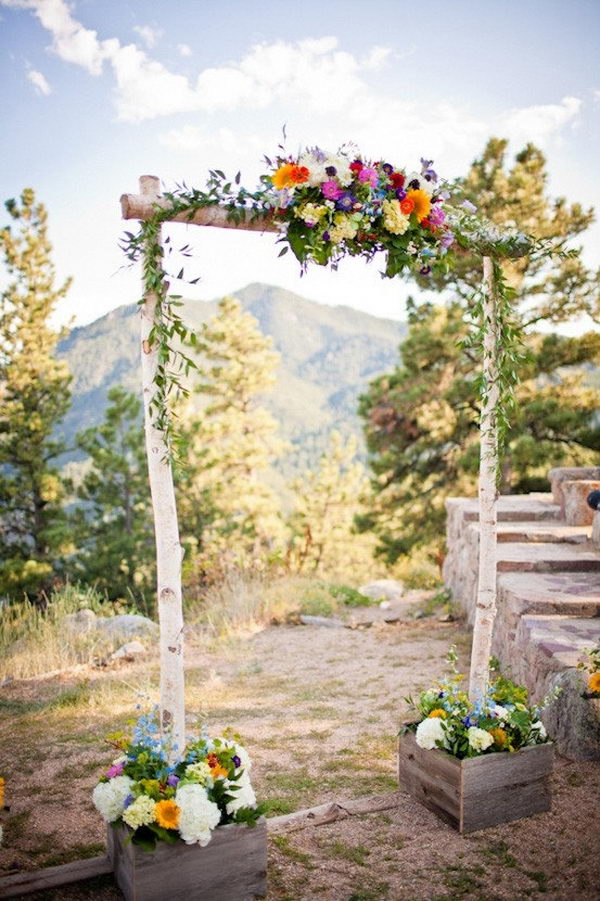 Three Piece Wedding Arch,