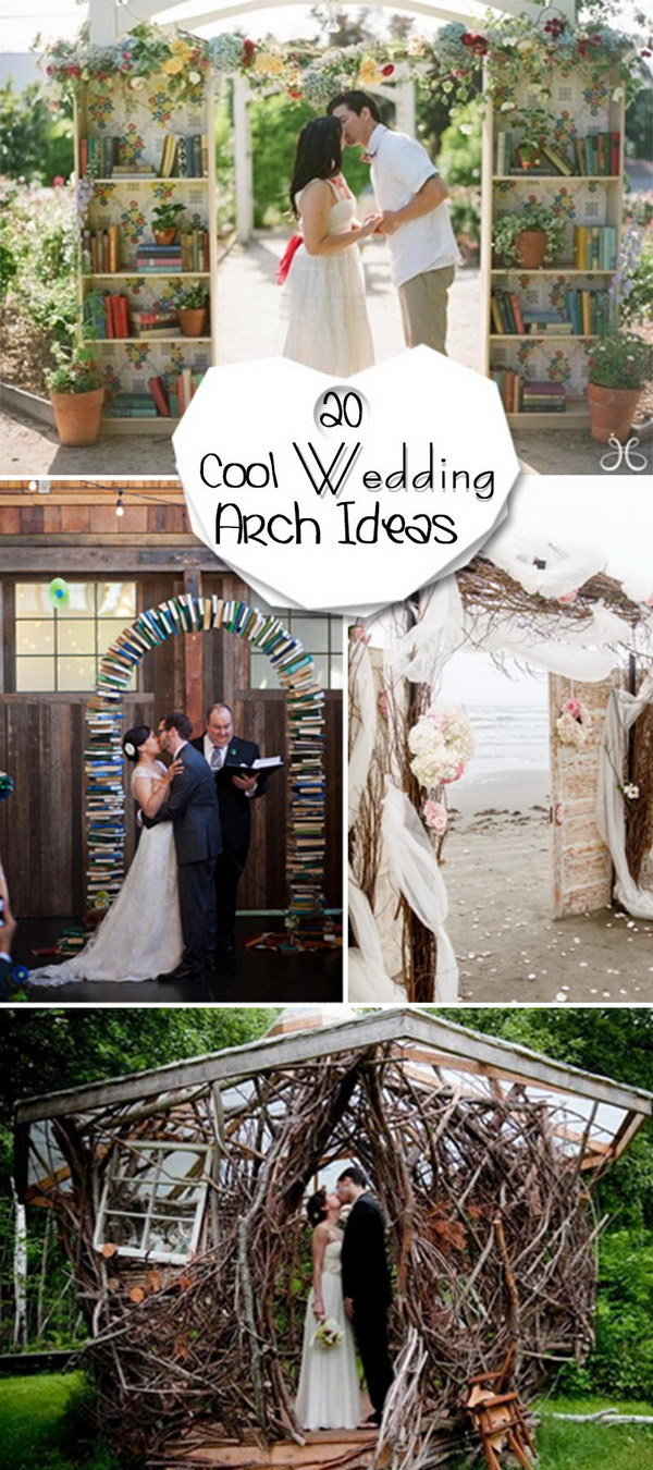 Cool Wedding Arch Ideas!