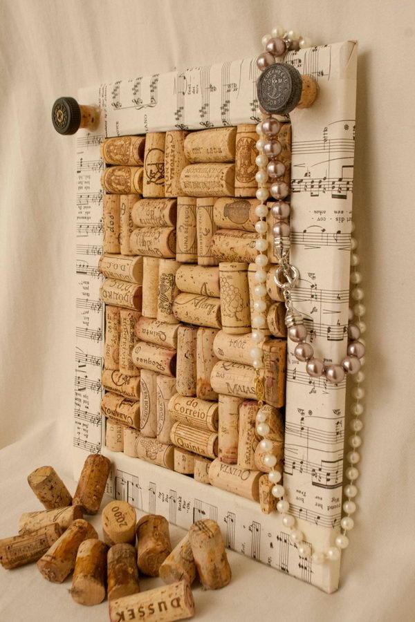 10 cool wine cork board ideas hative for Wine cork ideas