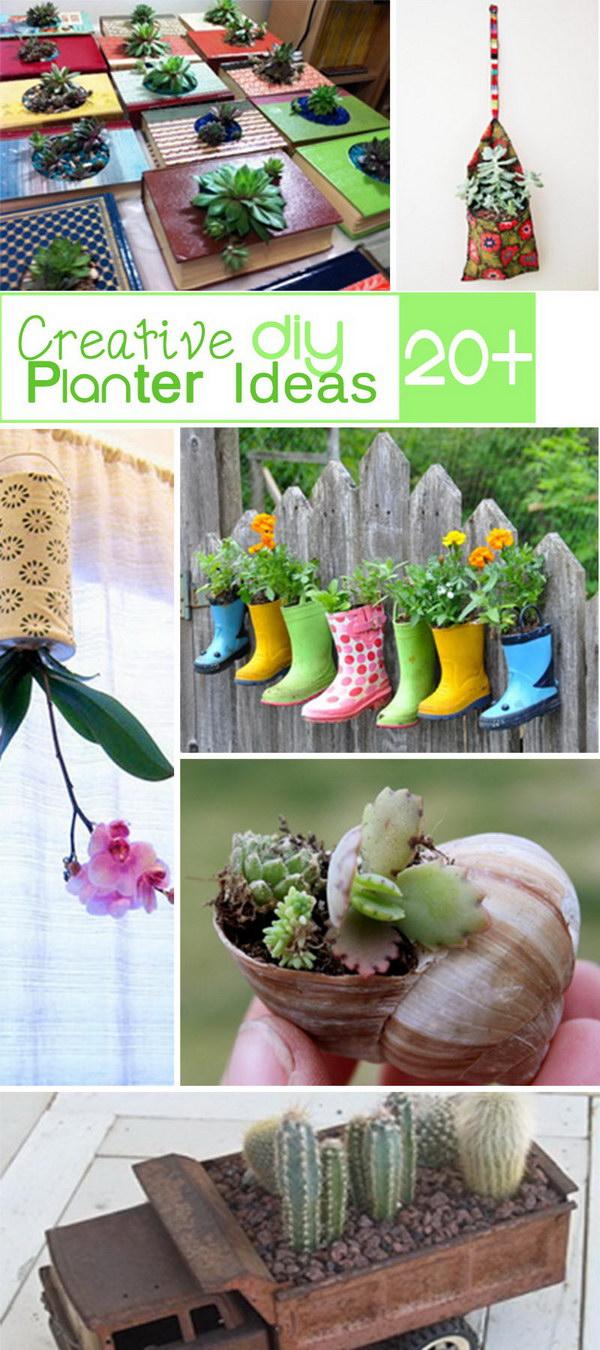 Creative DIY Planter Ideas!