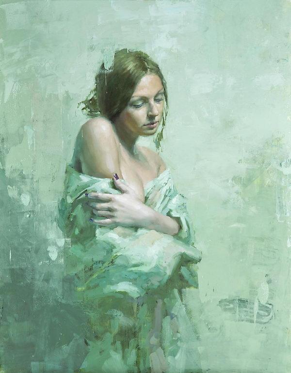 Jeremy Mann Figurative Painting.