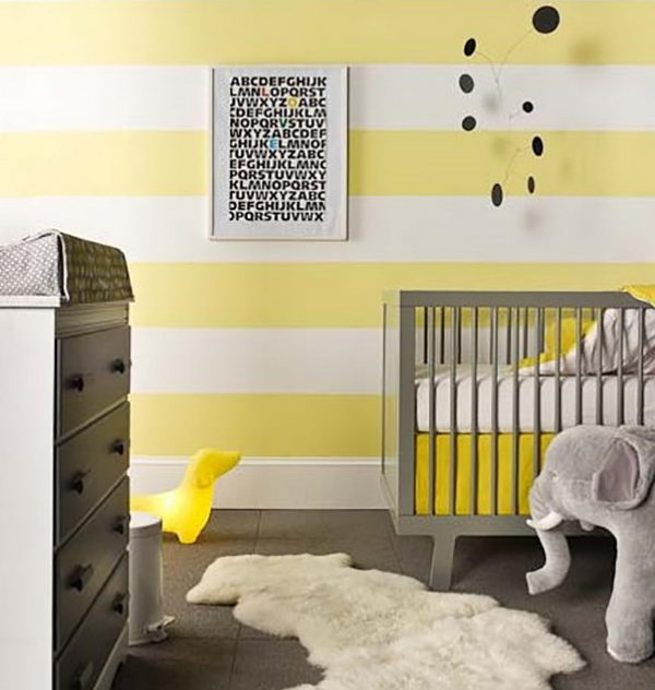 Grey and Yellow Nursery.