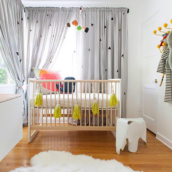 Tips For Decorating A Small Nursery: 20 Cute Nursery Decorating Ideas