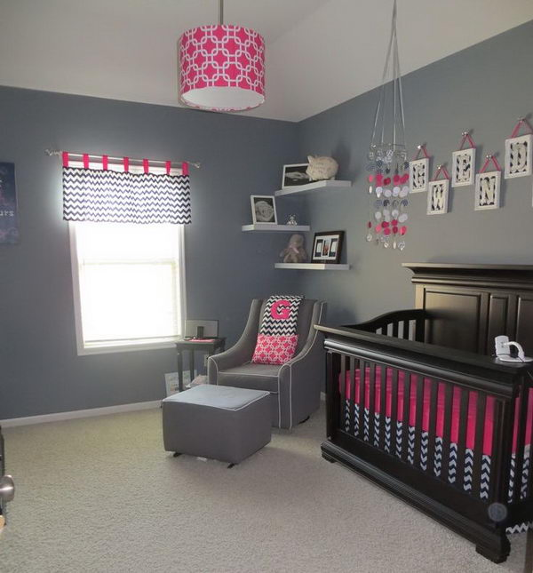 20 Beatifull Decor Ideas For Your Baby S Room: 20 Cute Nursery Decorating Ideas