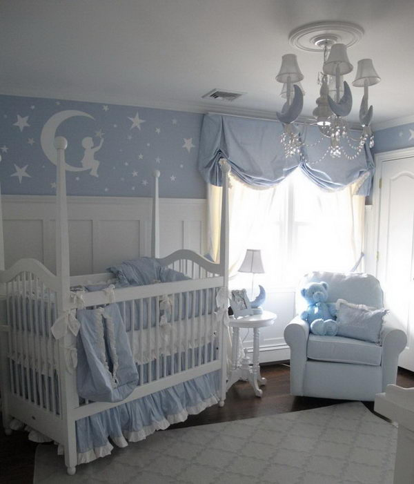 Little Boy Room Design Ideas: 20 Cute Nursery Decorating Ideas