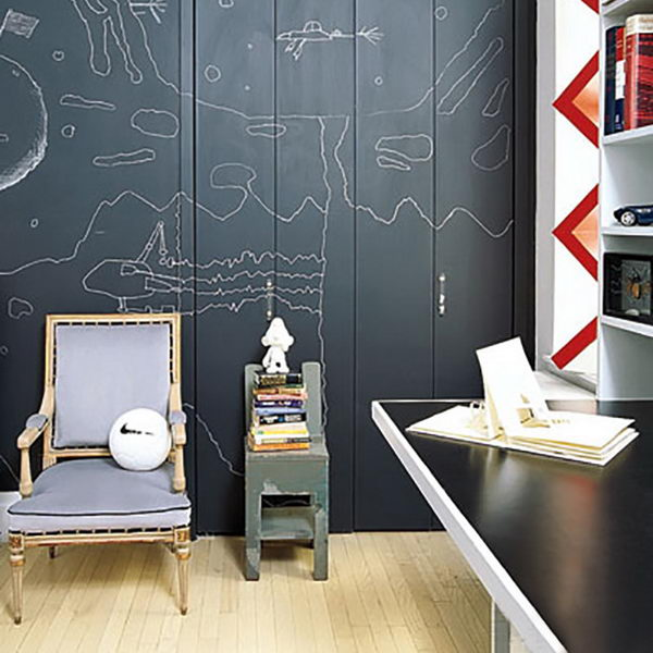 Chalkboard Paint Nursery.