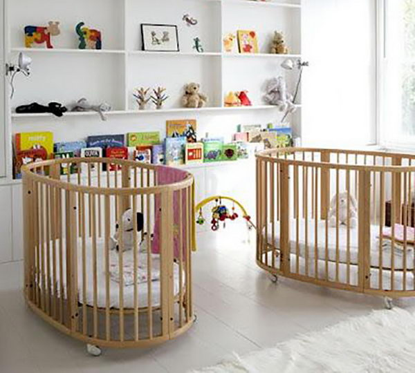 20 cute nursery decorating ideas hative. Black Bedroom Furniture Sets. Home Design Ideas
