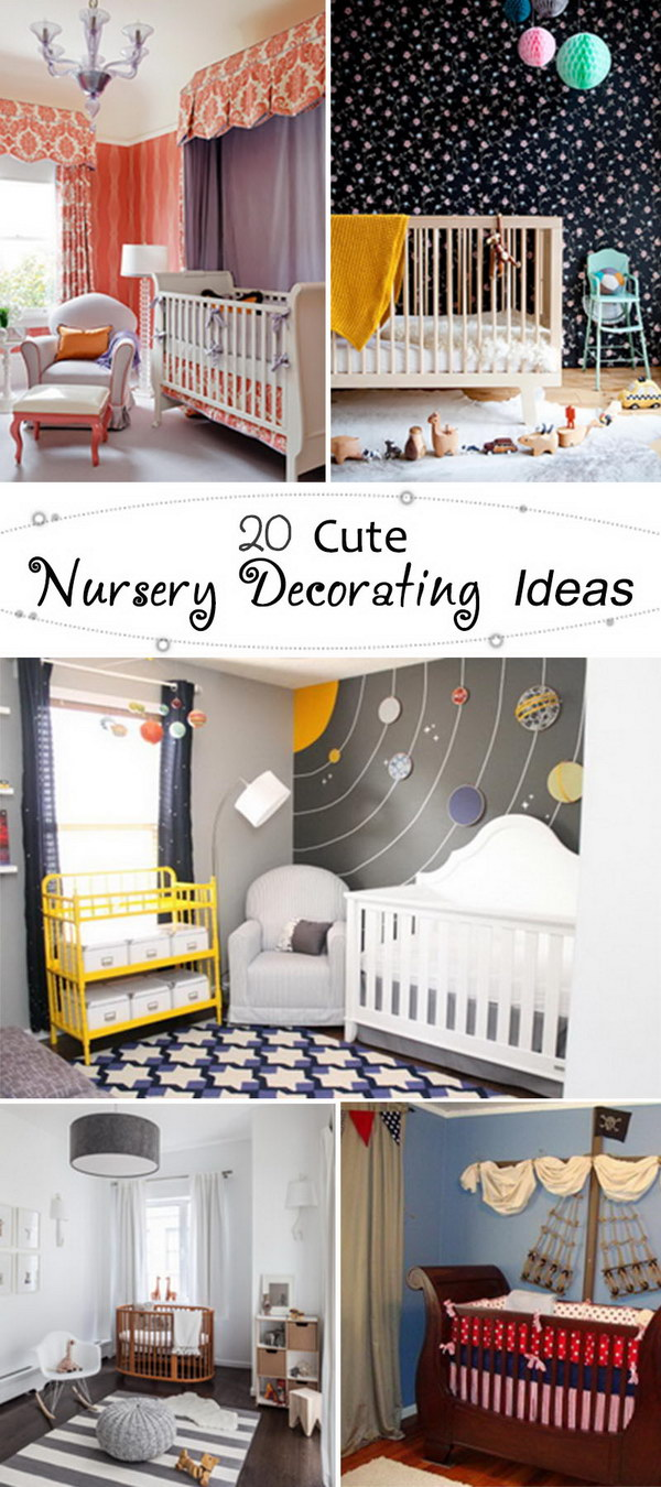 Cute Nursery Decorating Ideas!
