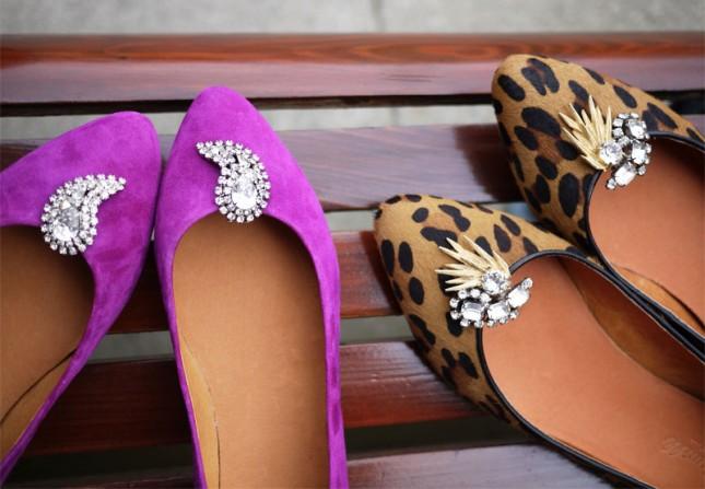 DIY Shoe Clips.
