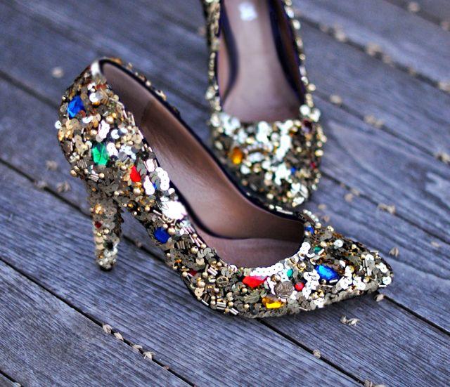 Embellished Heels.