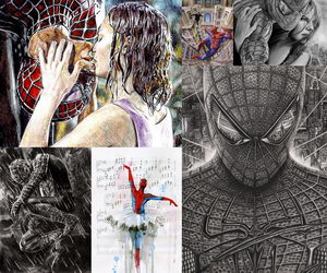spiderman-drawings-collage