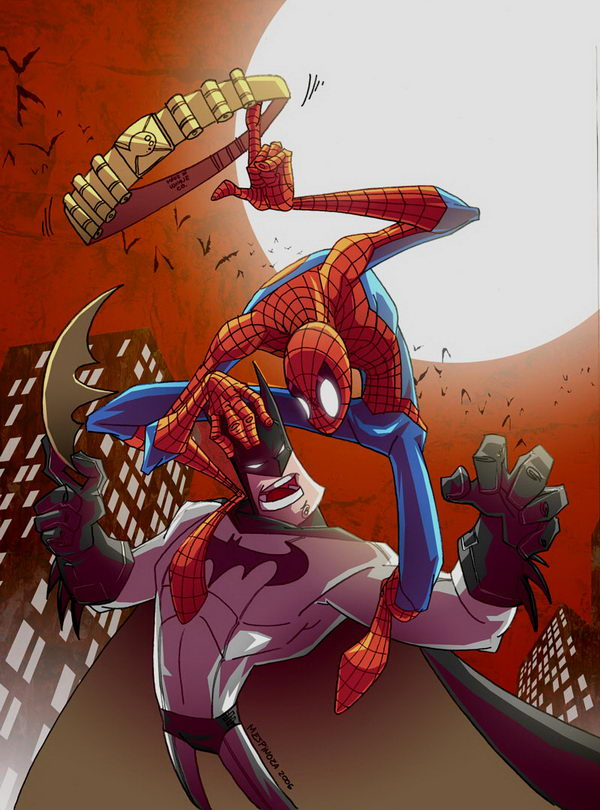 20 Cool Spiderman Drawings