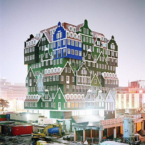 20 most unique hotel designs in the world hative for Hotel design amsterdam