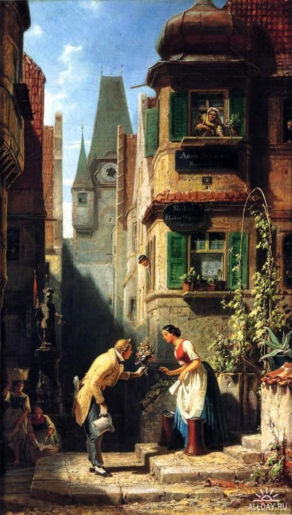 Genre Paintings Depict Scenes From Everyday Life Hative