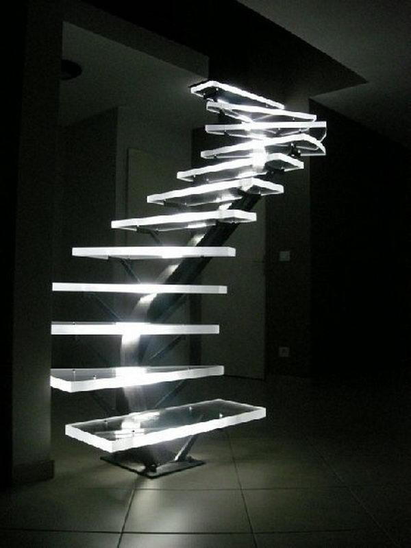 10 creative led lights decorating ideas hative. Black Bedroom Furniture Sets. Home Design Ideas