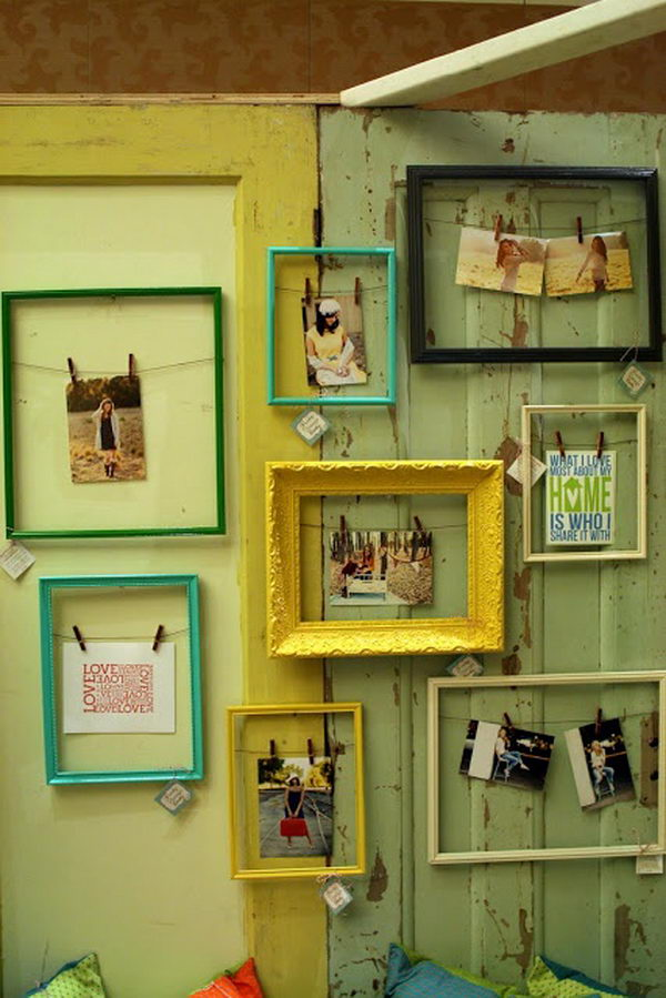 Open Frame Photo Holders.