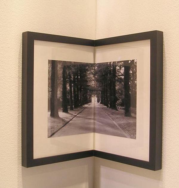 Corner Picture Frame.
