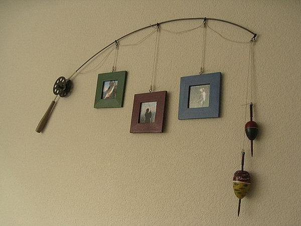 fishing photo frame - Picture Frame Ideas