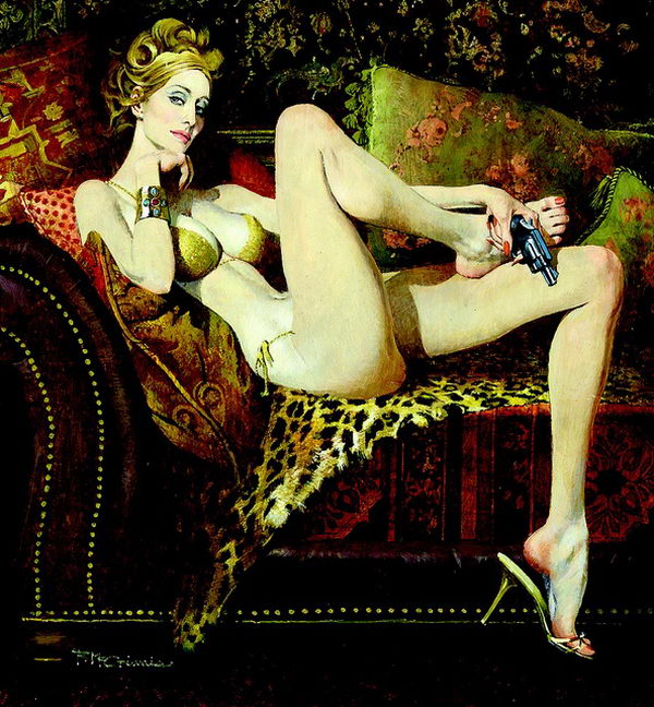 Robert Mcginnis Women Portraits Artworks Hative