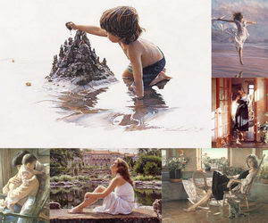 steve-hanks-watercolor-paintings-collage