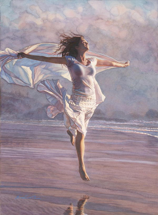 Watercolor Paintings by Steve Hanks.
