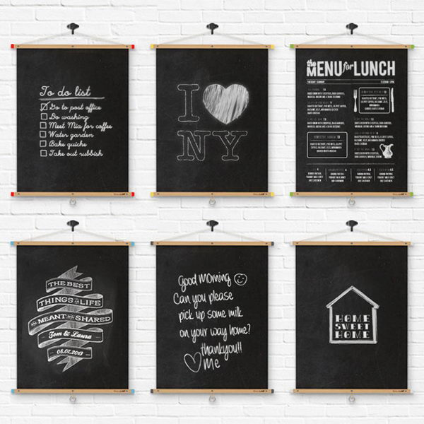 Home Design Ideas Blackboard: 20+ Cool Chalkboard Paint Ideas