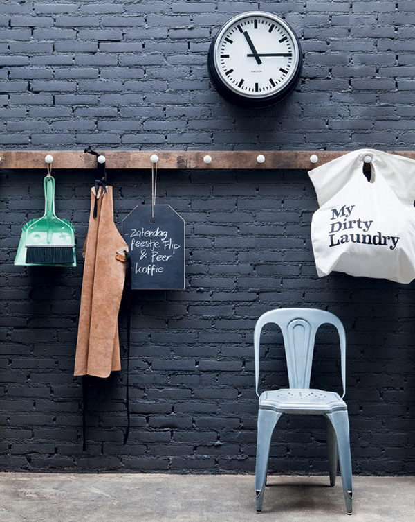 Chalkboard Hanging Tag.