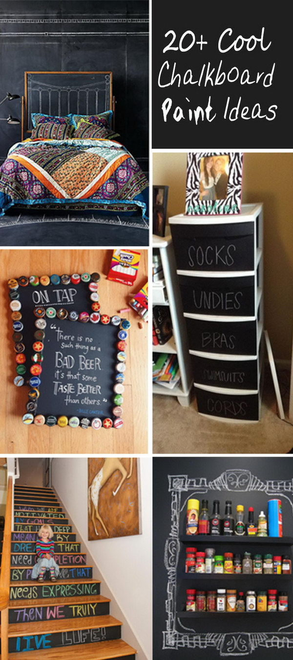 Cool Chalkboard Paint Ideas!