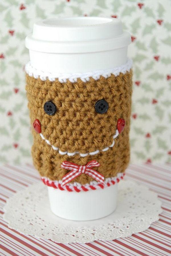 20 Cool Crochet Coffee Cozy Ideas & Tutorials - Hative