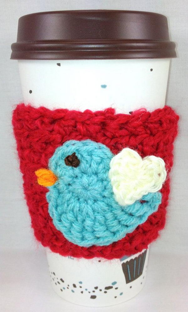 20 Cool Crochet Coffee Cozy Ideas Amp Tutorials Hative