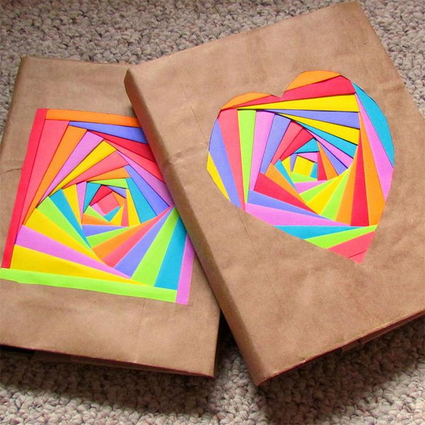 Book Cover Diy ~ Creative diy book cover ideas hative