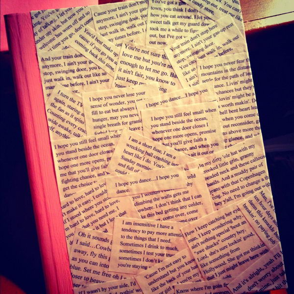Diy Book Cover ~ Creative diy book cover ideas hative