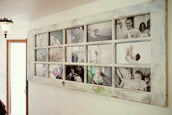 Old Door Photo Frame.
