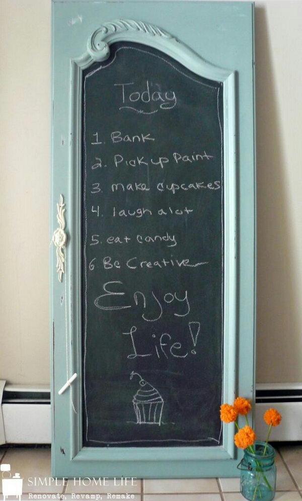 10 Creative Door Repurpose Ideas Hative