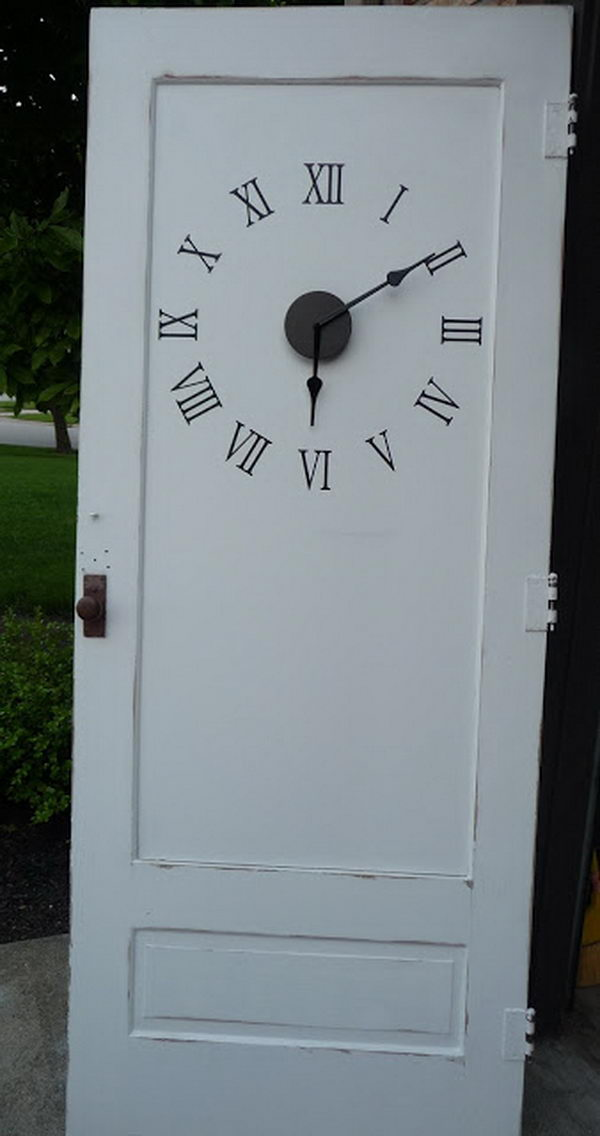 Old Door Clock.