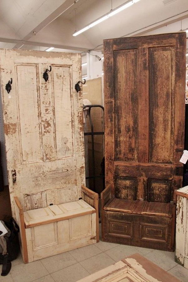 10 Creative Door Repurpose Ideas Hative