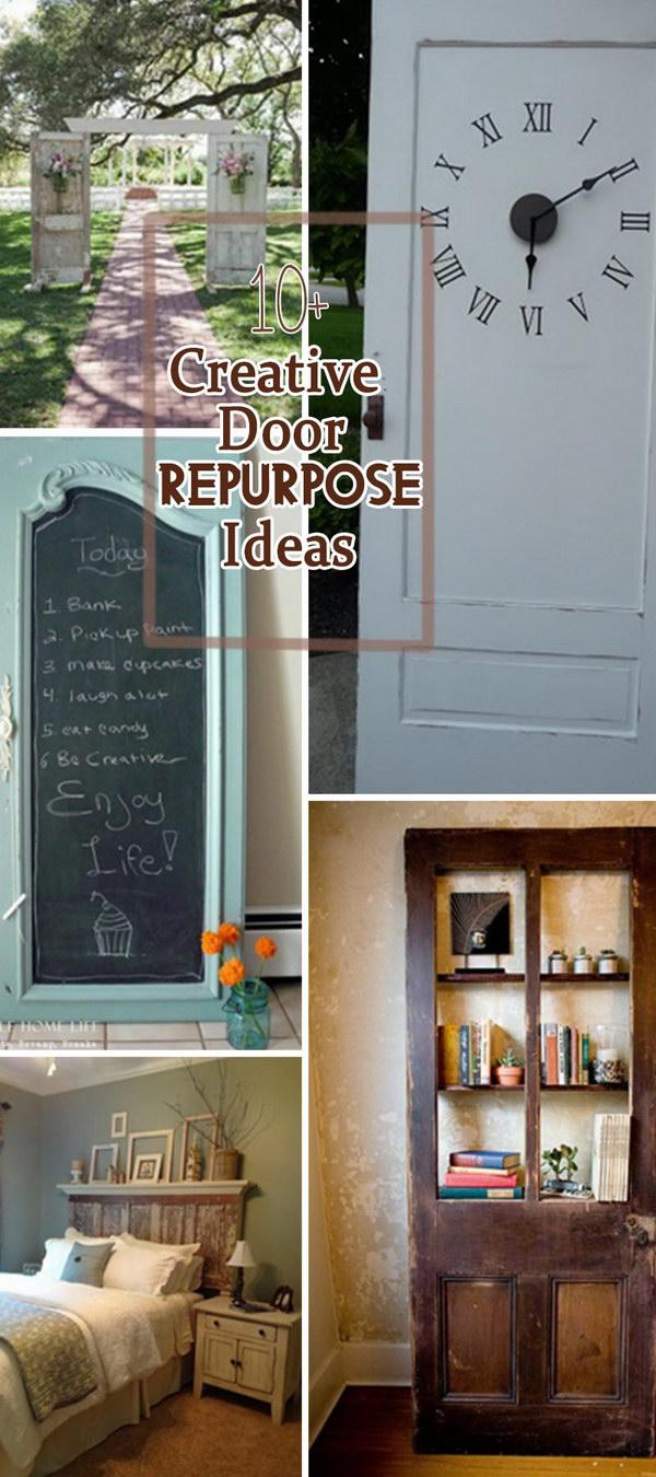 Creative Door Repurpose Ideas!