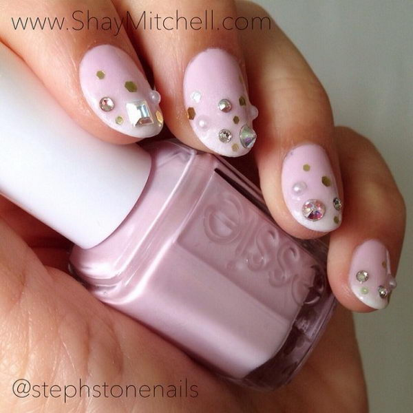 3D Valentine Mani, 3D nail art is a technique for decorating nails that creates three dimensional designs.