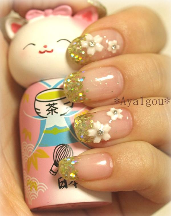 35 Cool 3d Nail Art Hative