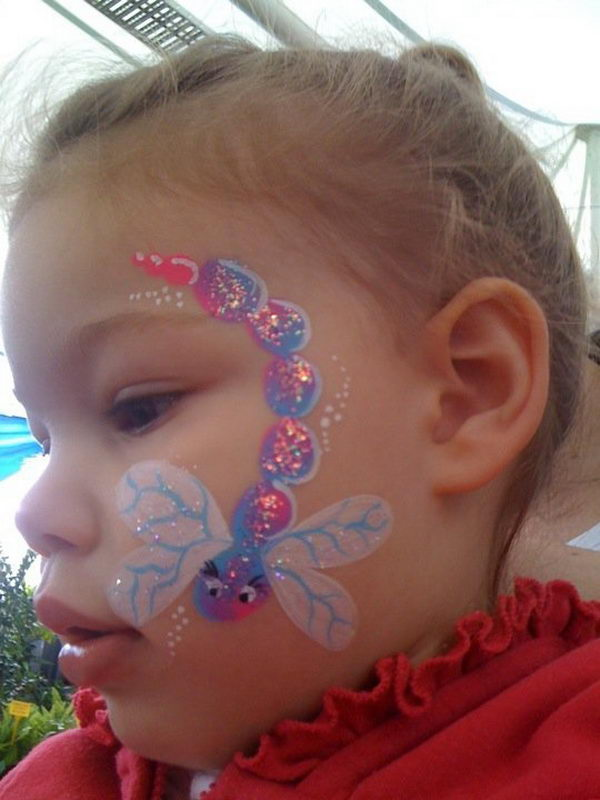 30 cool face painting ideas for kids hative. Black Bedroom Furniture Sets. Home Design Ideas