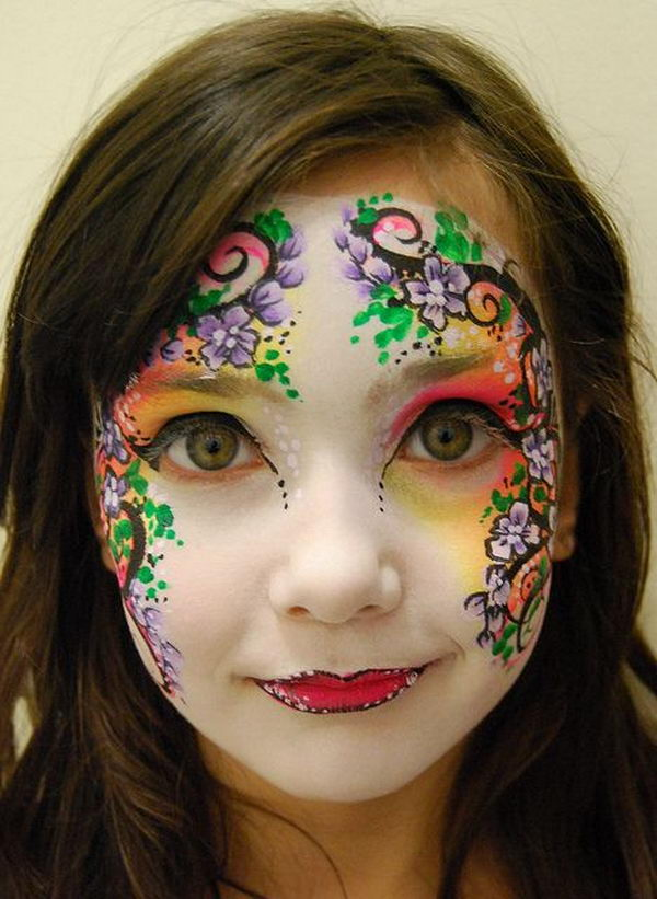 Small Fun Design Ideas Kids Face Paint
