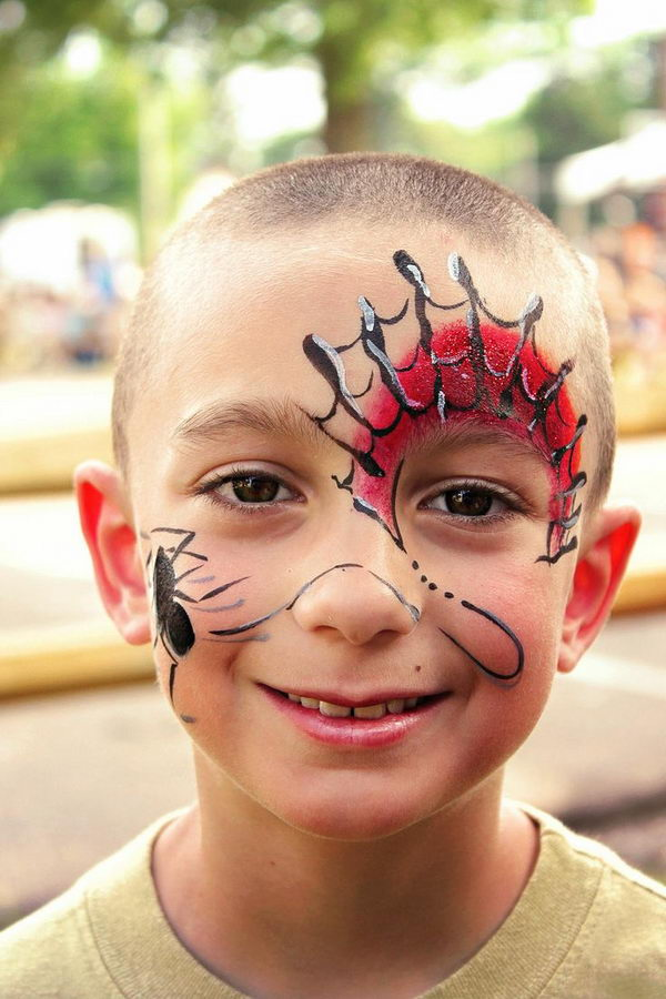 Cool Painting. Cool Face Painting Ideas For Kids, which transform the faces of little ones without requiring professional quality painting skills.