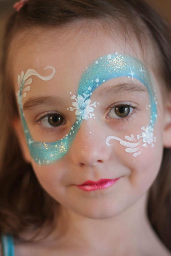 Face Painting Frozen Elsa Frozen Face Painting