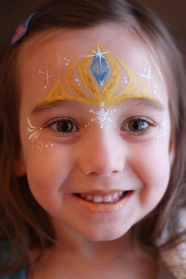 Frozen Face Painting Cool Ideas For Kids Which Car Interior Design