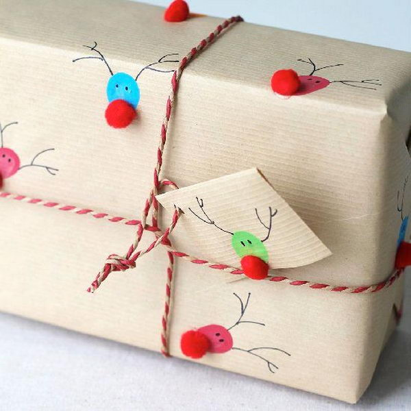 20 cool gift wrapping ideas