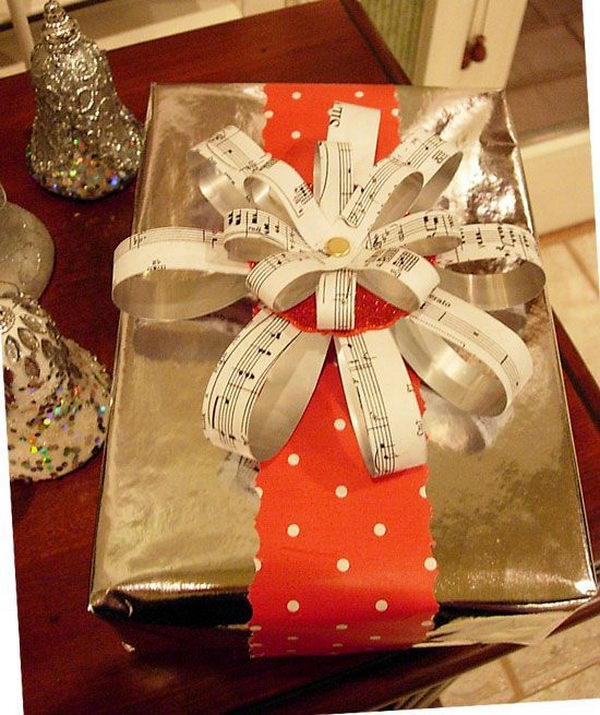 Unique Gift Ideas For Christmas: 20 Cool Gift Wrapping Ideas