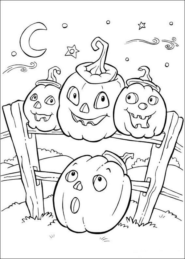 fun halloween coloring pages print - photo#15