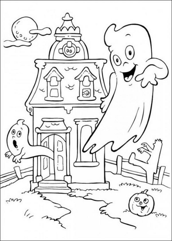 20 Fun Halloween Coloring Pages For Kids