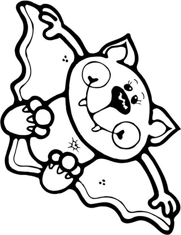 halloween printables coloring pages for kids | 20 Fun Halloween Coloring Pages for Kids - Hative